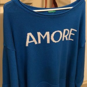 United Colors Of Benetton Sweaters - Amore blue sweater